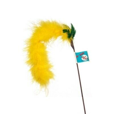 Go Cat Feather Cat Teaser Toy - Short Cat Tail