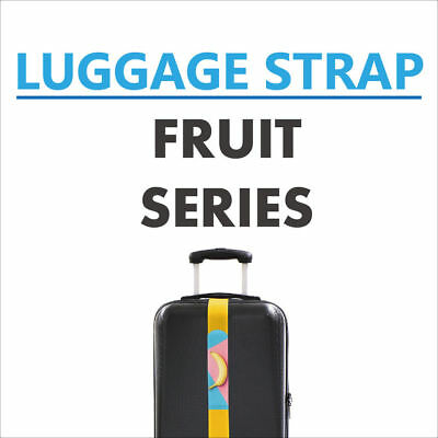 LOVETEX - Adjustable Luggage Cinch Strap - Fruit Series