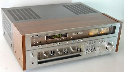 Toshiba SA 7150 AM FM Stereo Digital Synthesizer MONSTER Receiver AMP/PREAMP