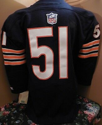 6ad586399 New With Tags Chicago Bears 1965 Dick Butkus Vintage Throwback Rookie Jersey