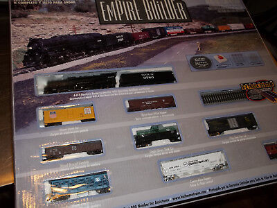 Bachmann N Scale Empire Builder Electric Train Set Pre-owned 24009 ESTATE FIND!