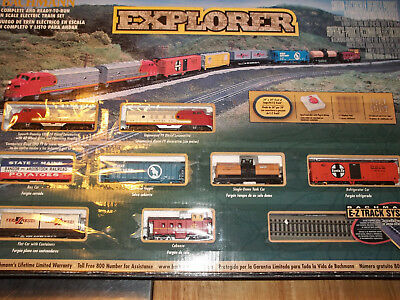 Bachmann N Scale Explorer Electric Train Set Pre-owned 24008 ESTATE FIND!