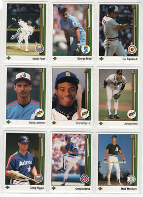 1989 Upper Deck Baseball Team Sets - Pick / Choose Your Teams (eSportsTrader)