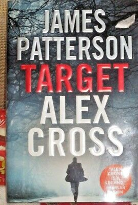 Target: Alex Cross by James Patterson (2018, Hardcover)