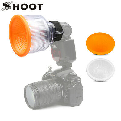 Cloud Lambency Flash Diffuser Dome Bounce Cover for Canon Nikon Sony Flash Light