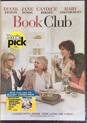 BOOK CLUB  < DVD > *New *Factory Sealed
