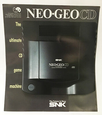NEO GEO SNK Original Promo CD Flyer/Booklet - BRAND NEW (from 1994)