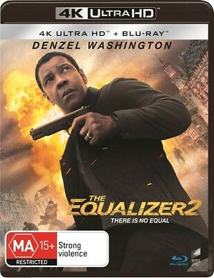 The Equalizer 2  Blu-Ray  Uhd  Uv (Uhd, 2018) 🍿 [Brand New & Sealed]