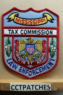 Mississippi Tax Commission Law Enforcement (Police) Shoulder Patch Ms