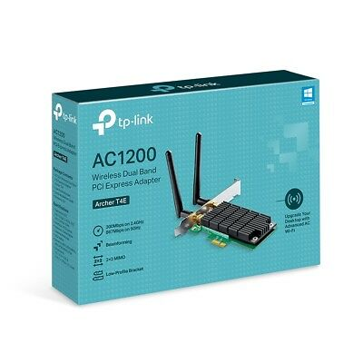 TP-Link Archer T4E AC1200 W/L Dual Band PCI Express Network Adapter 802.11n 5GHz
