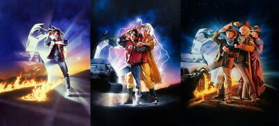 "006 Back To The Future - Marty Dr Emmett Classic Movie 30""x14"" Poster"