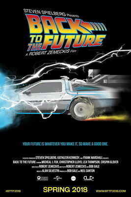 "016 Back To The Future - Marty Dr Emmett Classic Movie 14""x21"" Poster"