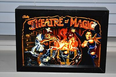 Williams Theatre Of Magic Lighted Shadow Box