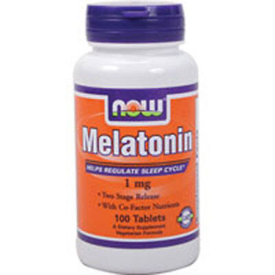 Melatonina 100 Compresse 1 Mg da Now Foods