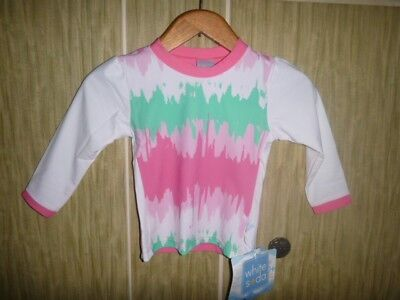 brand new with tags girls size 0 Long sleeve rashie top