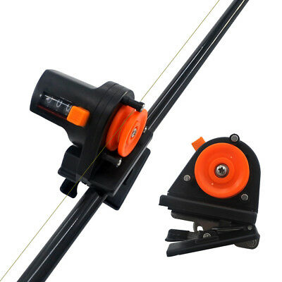 0-999M Fishing Line Counter Fishing Depth Finder Length Gauge Tools