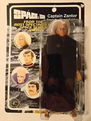 """Space 1999 Captain Zantor 8"""" Classic TV Toys Action Figure NEW"""