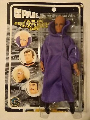 """Space 1999 Mysterious Alien 8"""" Classic TV Toys Action Figure NEW"""