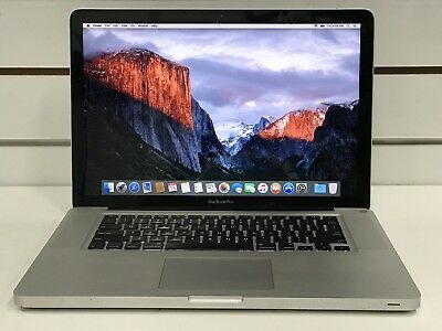 Macbook Pro 15-inch 2.53Ghz 4GB RAM 256GB SSD mid 2009 CRACKED SCREEN