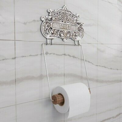 Antique Toilet Paper Holder Chrome Princess Crown Tissue | Renovator's Supply