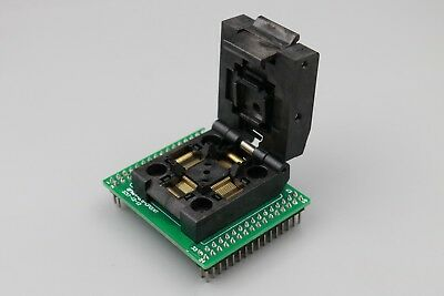 QFP64 to DIP64 Clamshell Test Socket IC Programmer Adapter