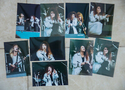 LEE AARON - READING FESTIVAL 1983 - ORIGINAL LIVE CONCERT PHOTOS - Set of 9