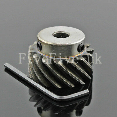 1.5M15T Helical Gear Metal Wheel Motor Gear Large Torque 90° Angle Gearing