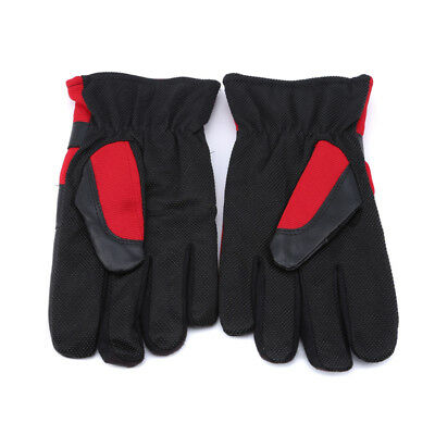 Unisex Winter Warm Motorcycle Thickening Windproof Cold Proof Finger Gloves LH