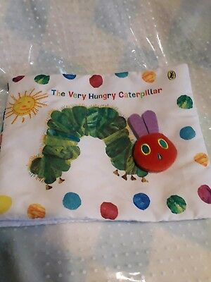 The Very Hungry Caterpillar Cloth Book  ~  Baby Gift  ~  Beautiful soft book.