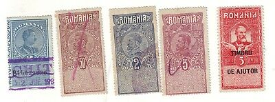OLD EUROPE *   LOCAL  DUTIES   to  BALKAN  KINGS   USED  = 4 =  + 1 MINT