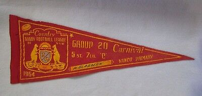 1964 COUNTRY RUGBY FOOTBALL LEAGUE CLUB Of NSW CARNIVAL AWARD CLOTH PENANT