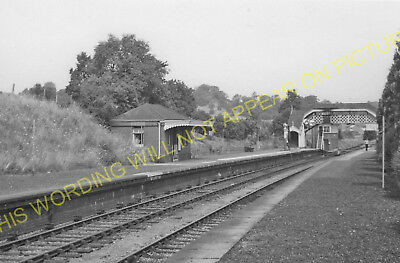 Hallatrow Railway Station Photo. Clutton - Midsomer Norton. Radstock Line. (15)