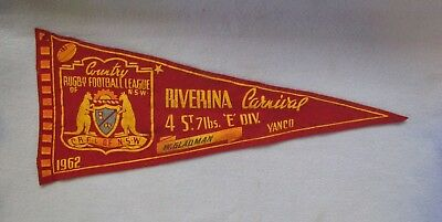 1962 COUNTRY RUGBY FOOTBALL LEAGUE CLUB Of NSW CARNIVAL CLOTH PENANT