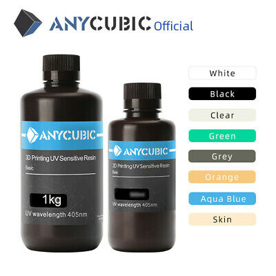 EU ANYCUBIC Multi Color 405nm UV Sensitive Resina For SLA Photon Impresión 3D