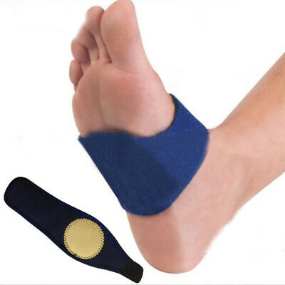 Arch Support Heel Spur Strap Brace Cushion Feet Ankle Pain Relief Safe Use CE