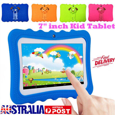"""7"""" inch Android 4.4 Tablet PC Quad Core WiFi Camera For Kids Child Children Gift"""