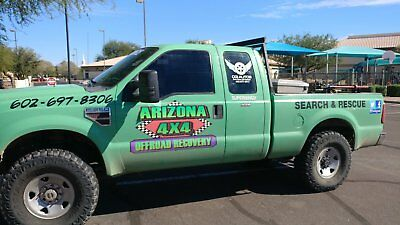 2009 Ford F-350  Ford F350 SuperDuty 4x4 Off Road Recovery Truck