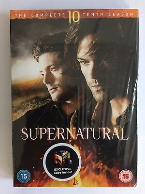 Supernatural: The Complete Tenth Season (DVD 2016)