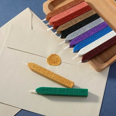 Colourful Traditional Wax Sealing Stick For Letters Stamp Seal Melting Candle