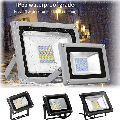 12V LED Floodlight 10W 20W 30W 50W 100W PIR LED Flood Light Security Outdoor