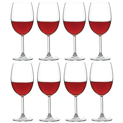 NEW Ecology Otto Red Wine Glass Pay For 6 Get 8 Set 440ml