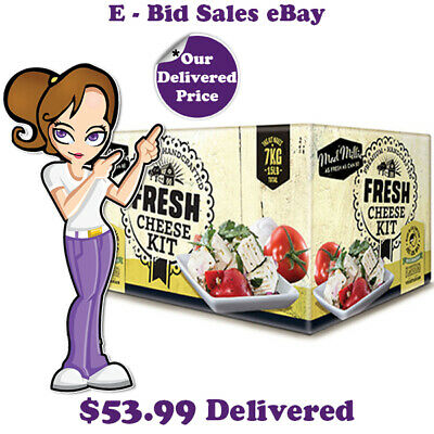 Fresh Cheese Making Kit By Mad Millie @ $57.99 * Delivered