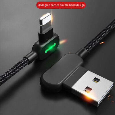 For iPhone X 8 Plus 7 6 USB Charger Fast Lightning Cable Charging Data Cord 1.8M