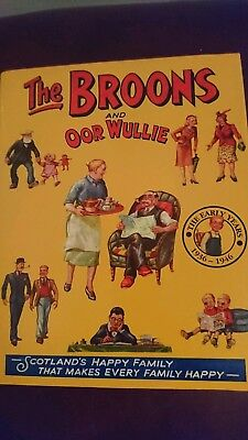 The Broons And Oor Wullie. 1936 - 1946 Hardback