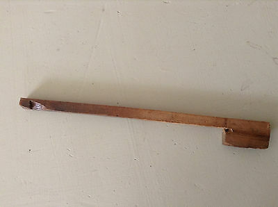 Wooden Hood Door Catch for Longcase Clock