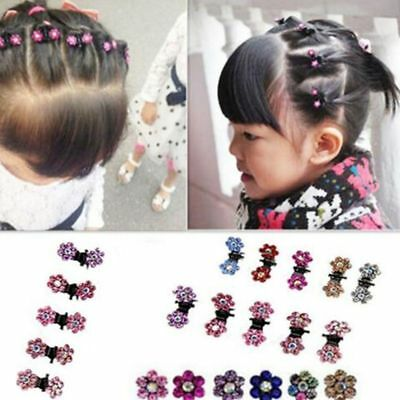 Baby Accessory Claw Girl Mini Clamp Flower Hair Clip 12 Pcs Hair Pin