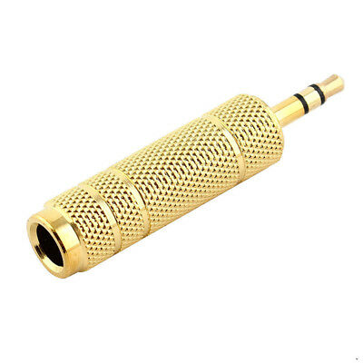 Portable 3.5mm 1/8Inch Male to 6.5mm 1/4Inch Female Stereo Audio Jack Adapter