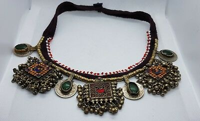 Antique Vintage Ethnic Necklaces One of a Kind Designs