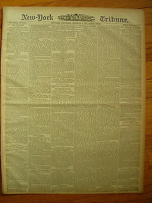 New York Tribune 1876. Ulysses S Grant State of the Union Address. The Election
