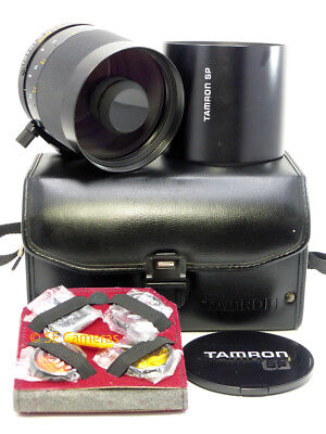 Tamron Sp Adaptall 500Mm F8 Compact Reflex Mirror Lens 55B *excellent*